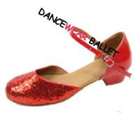 Buy cheap Sequin Closed Toe Ballroom Shoes product
