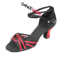 Buy cheap Contrast Color Centre Loop Ballroom Latin Shoes product