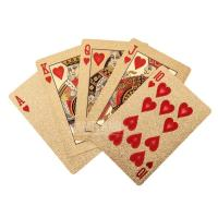 China 24k Gold Plated Playing Cards on sale