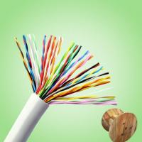 Buy cheap CAT5e 24 AWG Telephone Cable product