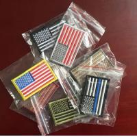 wholesale american flag patch and other national flags embroidery patch