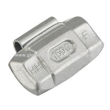 China Steel balance weights, clip-on design, lead-free alternative for truck