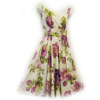 "Buy cheap Dresses New Rosa Rosa Vtg 1950s style Purple Floral""English Rose""Rockabilly Swing dress product"