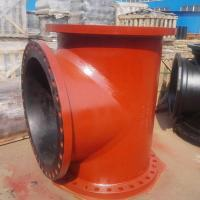 Ductile Iron Pipe Fittings with Black Bitumen Paint