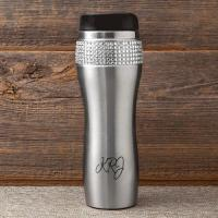 Personalized Bling Travel Tumbler