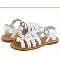 Buy cheap Aster Shoes White Girl's Gladiatore Adustable Buckle Sandals product