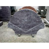 Granite Carved Fan Shaped Monuments