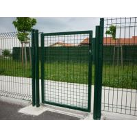 Fence and gate Fence and gate
