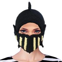 Buy cheap Mask Black Knitted Mask Headgear AMMK0048 product