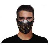 Buy cheap Mask Cinnamon Leather Punk Mask PKMK0032 product