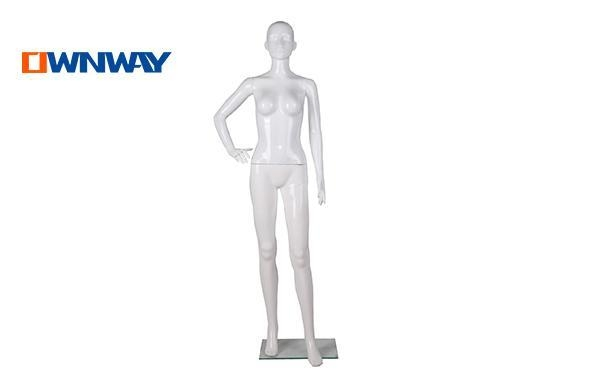 Quality Mannequins Plastic female mannequins display women mannequin wholesaleHQF01 for sale