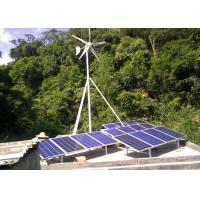 China 400W 24V Roof Mounted Wind Turbines For The Home With 600W Solar Panel on sale