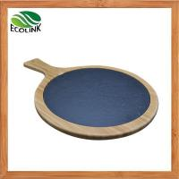 China Bamboo Slate Pallet Cheese Board With Handles on sale