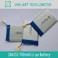 Buy cheap payment 284155 700mAh from wholesalers