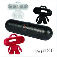 Item No.: 2014 New Beats Pill 2.0 by Dr. Dre Portable Bluetooth Speaker with Built-In Mic