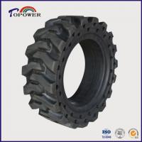Buy cheap Pneumatic Solid Skid Steer Loader Tires product