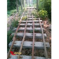 Buy cheap Anticorrosive wood plank road construction platform installation site product