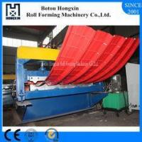 Hydraulic Type Roofing Sheet Crimping Machine 0.3 - 0.8mm Processed Thickness