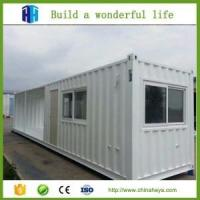 HeYa good 20ft container houseChina supplier for rebuilt living area