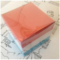 Buy cheap Office  Block memo pad with plastic holder product