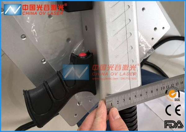 Quality 1064nm Wave Length Laser Mould Cleaning Machine For Tyre Moulds Cleaning for sale