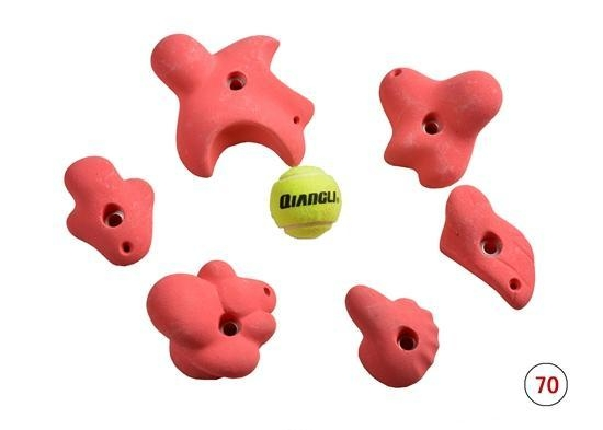 Quality Star shape rock climbing holds for sale