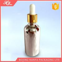 Buy cheap 100ml Silvery Glass Bottle with Dropper product