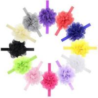 Buy cheap High Quality Flower Headband For Kids Elastic Baby Girl Hair Band product