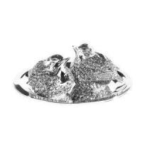 Silver Plated Tableware Silver Plate Robin Salt & Pepper