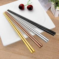 Buy cheap Stainless Steel Hollow Chopsticks product