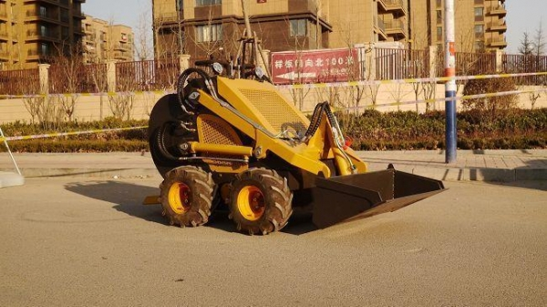 Quality Chinese Mini Skid Steer Loader Used for Farm for sale