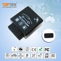 Buy cheap Best OBDII GPS Car Tracker For Teenage Drivers With Speed Alert DTC Codes CE FCC Certified from wholesalers