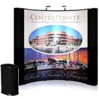 Buy cheap 8' Photo Mural Graphic Pop up Display with Fabric end panels from wholesalers