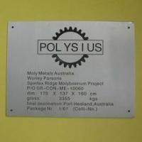 Buy cheap Customized signboard,salon signboard, company signboard advertisement Corrosion card from wholesalers