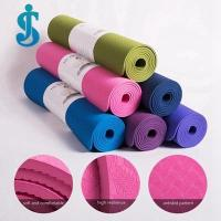 Buy cheap single color TPE yoga mat from wholesalers