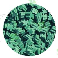 Buy cheap Clover Heart Shaped Rubber Granules for Football Artificial Grass from wholesalers