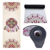 Buy cheap natural rubber suede yoga mat--aeolian bells from wholesalers