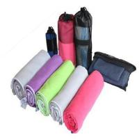 Buy cheap suede microfiber quick dry travel/gym/sport towel from wholesalers