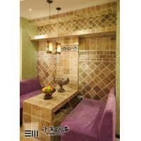 Buy cheap Marble Polished Natural Beige Travertine Flooring Tile For Kitchen Floor Decorative product