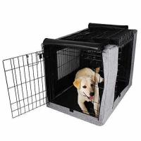 Buy cheap Petsfit Crate Cover for 36 Inches Wire Crates,Size 4000,Two Doors Grey product