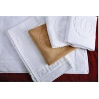 Buy cheap White Hotel Bathroom Rugs Sets Hote Style Bath Mat from wholesalers