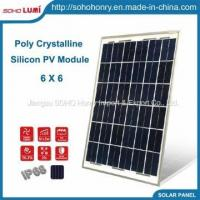 Buy cheap 10W 20W 25W 6X6 Poly Crystalline Silicon PV Module Solar Panel from wholesalers