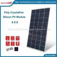 Buy cheap 85~130W 4X9 Poly Crystalline Silicon PV Panels Home Solar Power from wholesalers