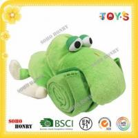 Buy cheap TOYS Custom Animal Blanket for Kids with Plush Frog Toy from wholesalers