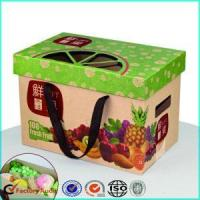 Buy cheap Corrugated Cardboard Fruit Caron Boxes Packing product