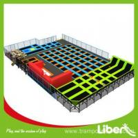 Buy cheap extra large indoor rectangular trampoline exercise product