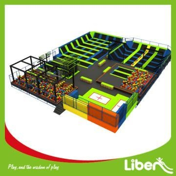 Quality Kids Large Exercise Indoor Trampoline Park for sale