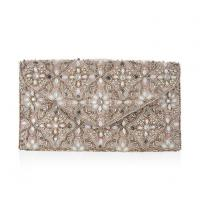 Buy cheap Elegant Floral Beads Envelope Clutch Bag.Sequins And Beads Envelope Handbags With A Connection Chain product
