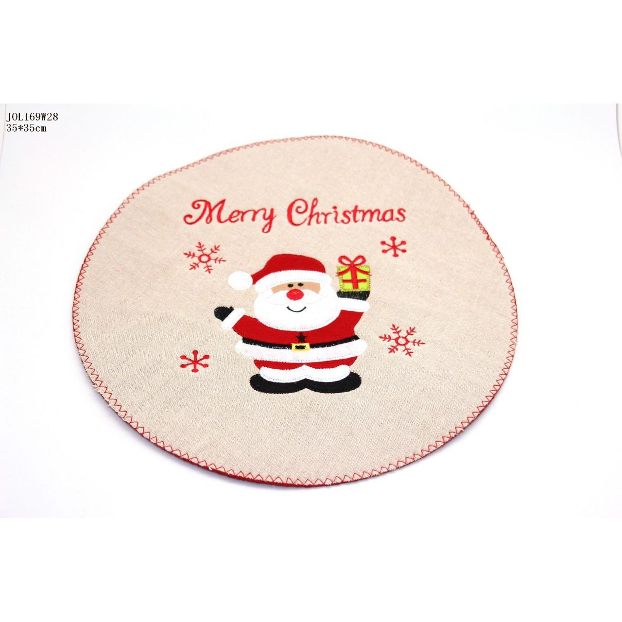 Buy cheap Hot sale Felt Christmas Placemat/Tablemat/Felt Christmas Decor product