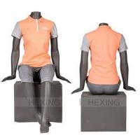 Buy cheap Boutique Display Fashionable Female Headless Sitting Mannequin product